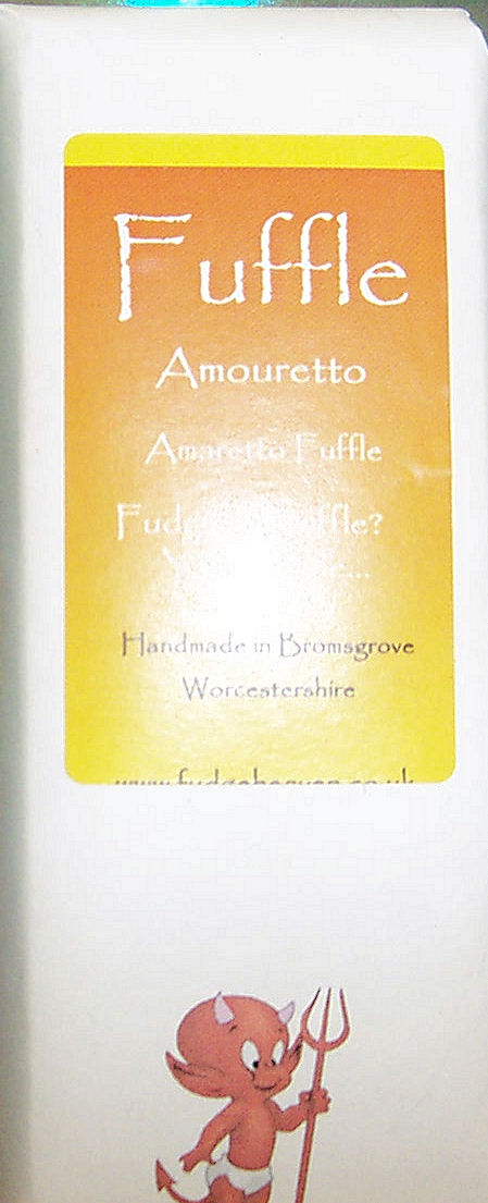 Amaretto Fuffle Bar